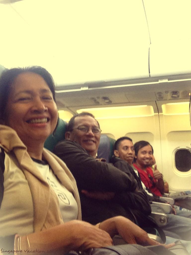 singapore vacation airplane photo