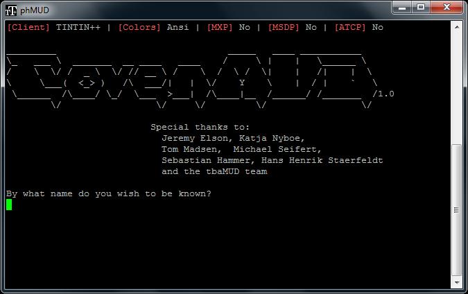 phmud login screen