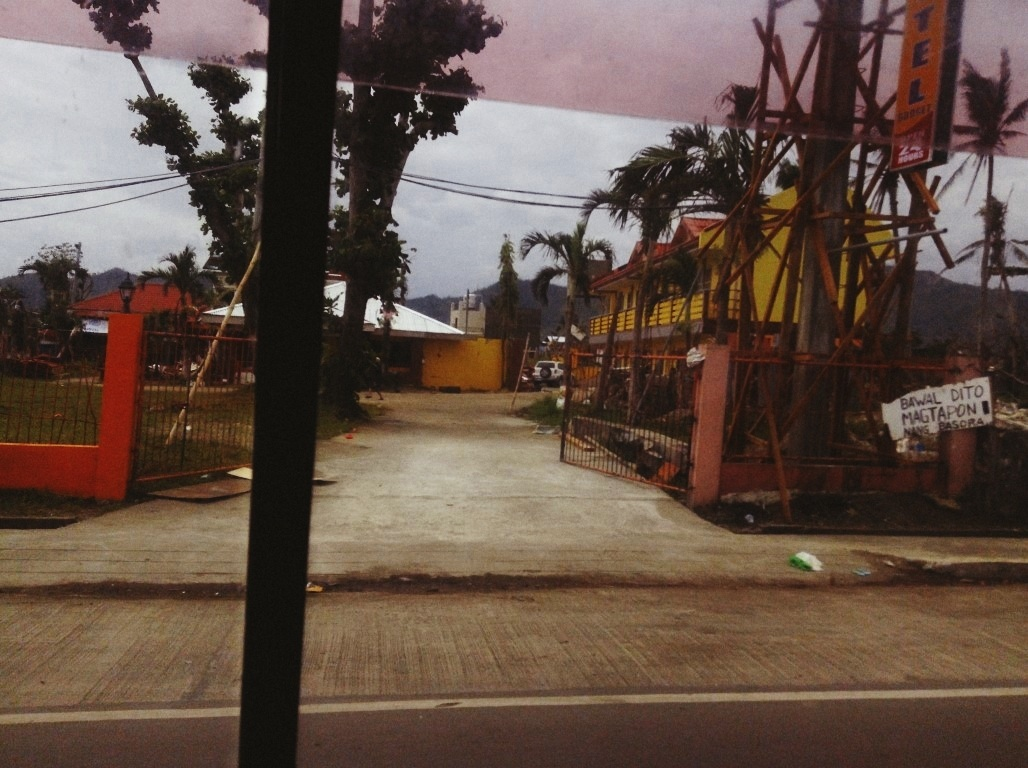 motel in sagkahan after the storm surge after typhoon yolanda