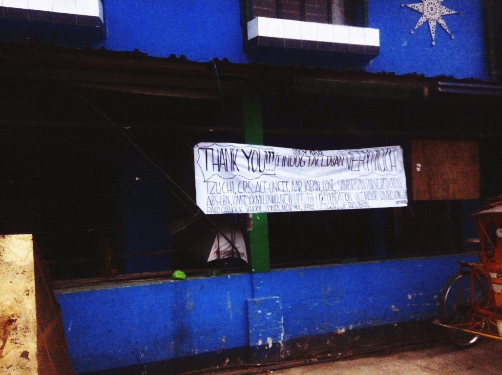 thank you messages in tacloban city after typhoon yolanda