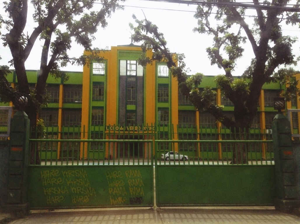 Liceo Del Verbo in Tacloban City after typhoon Yolanda