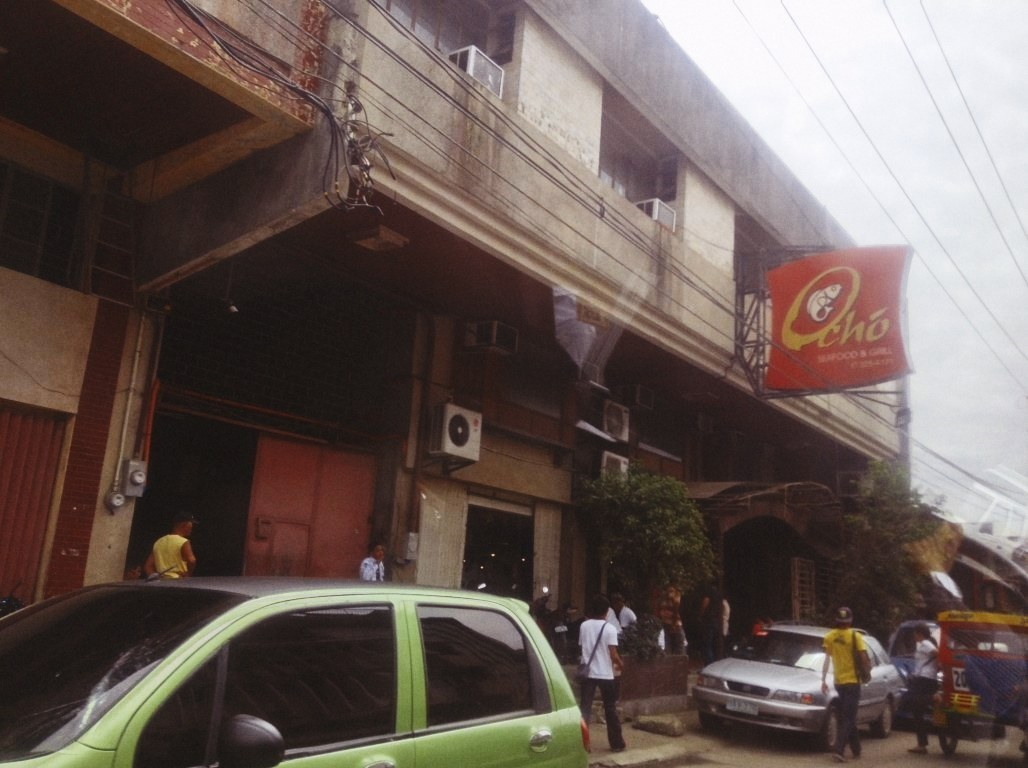 Ocho restaurant in Tacloban City after typhoon Yolanda