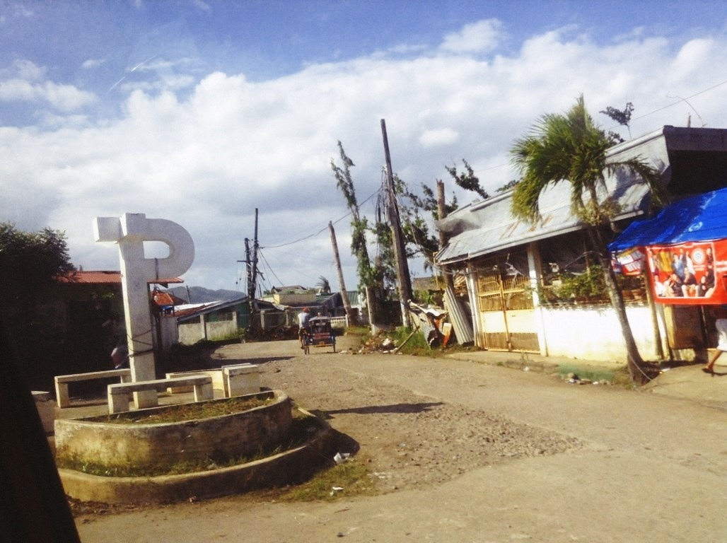 in v&g subdivision after typhoon yolanda