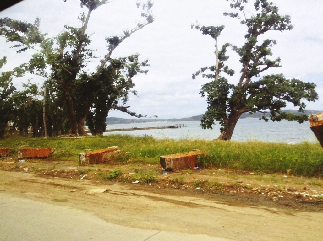 San pedro Bay Tacloban City after typhoon yolanda