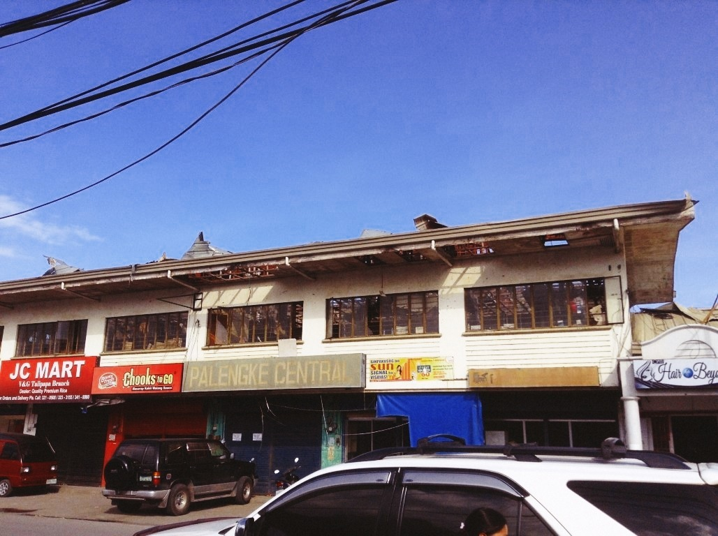 v&g talipapa palengke central after typhoon yolanda